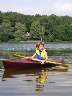 Build a kid's kayak from a single plywood sheet