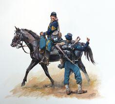 Union Cavalry, by Don Troiani. (www.dontroiani.com)