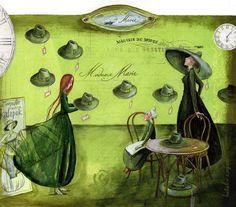 Álomszövő Pendula Fantasy Artwork, Illustration Art, Illustrations, Gallery, Painting, Amor, France, Roof Rack, Illustration
