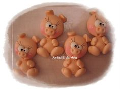 Imãs R$ 4,00 Pasta Flexible, Clay, Crafts, Food, Biscuit, Ideas, Teacup Pigs, Crates, Softies