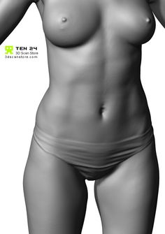 Buy and Sell 3D Scans Full Body 3D Scan Female Anatomy Pose 5