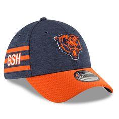 2018 Chicago Bears New Era 39THIRTY NFL Sideline Historic On Field Cap Hat  Flex New Era ccb999f7383f