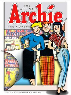 'The Art of Archie': See classic comic covers from new collection — EXCLUSIVE | EW.com