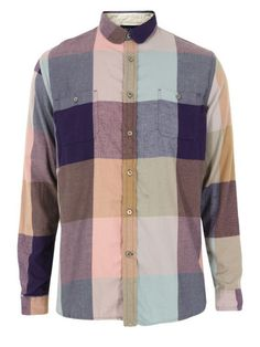 Paul Smith - Jeans Classic Blue Shirt at Coggles Round Collar Shirt, Lots Of Socks, Burberry Plaid, Modern Man, Paul Smith, Midnight Blue, Fashion Men, Paisley, Men Sweater