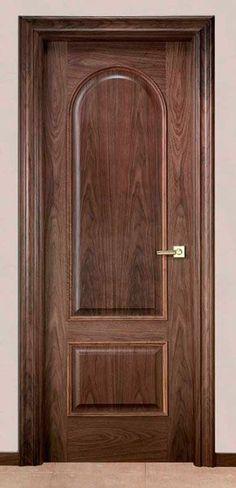 Bedroom Door Design, Door Design Interior, Wooden Door Design, Front Door Design, Wood Front Doors, Wooden Doors, Single Floor House Design, Stair Art, Indoor Doors