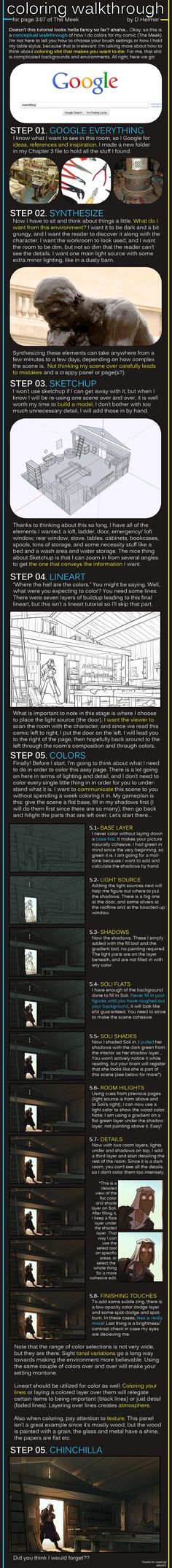 Coloring Walkthrough by `alexds1