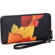 CONTACTS Fall-Inspired Wristlet Wallet - BagPrime - Look Your Best with Amazing Bags