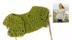 How to crochet the body under round yoke