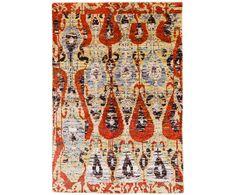 Handgeknüpfter Teppich Finn, rot, 230 x 160 cm | Westwing Home & Living