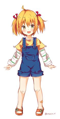 Chica anime pequeña