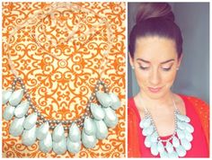 Anthropologie Stormy Seas necklace (knock off) sold out in stores and online., make yourself and save around $125