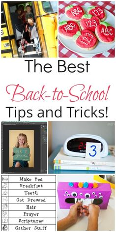 The Best Back-to-School Tips and Tricks | How Does She #howdoesshe #backtoschool #tipsandtricks