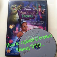 A Disney Mom's Thoughts: Replacing A Damaged Disney DVD or Blu-ray