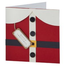 Santa Claus card #cardmaking #christmas