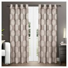 Exclusive Home Akola Curtain Panels - Set of 2 Panels