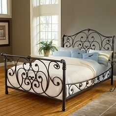 Mandalay Sleigh Bed Hillsdale Furniture http://www.amazon.com/dp/B00CXAW9CW/ref=cm_sw_r_pi_dp_R19uvb1JH7V8T