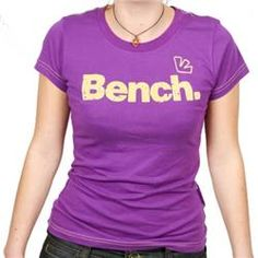 bench Ladies Flock T-Shirt - Purple Magic TeeWAS: £23.50 http://www.comparestoreprices.co.uk//bench-ladies-flock-t-shirt--purple-magic.asp