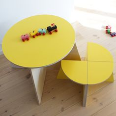 small-design CIRKEL sunny yellow