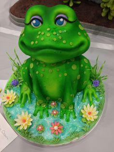 Birthday cake- my sis loves frogs