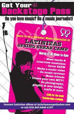 Spring Break Camp for girls.