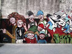 Peatonal Sarandí, Ciudad Vieja, #Montevideo #Uruguay #streetart
