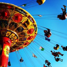 #swing #london #flying #beingkids #red #yellow #blue London Travel, Yellow, Blue, Fair Grounds, Photo And Video, Red, Instagram