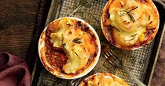 The perennially fashionable shepherd's pie has stood the test of time. With this modern twist, it will never go out of style.