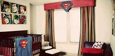 Vintage Comic Book Superhero Boy Nursery Reveal