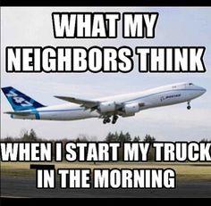 Loud truck humor   #landmarkautoinc