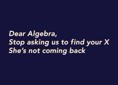 my funny math-friend.
