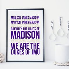 Hey, I found this really awesome Etsy listing at https://www.etsy.com/listing/234952574/james-madison-sports-typography-fight