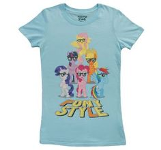 Women's My little Pony shirt, would so get the kid and I matching tees!!