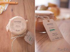 mermeladas para regalar: packaging imprimible