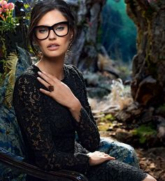 dolce & gabbana WOMEN 2015 | dolce-gabbana-adv-optical-campaign-winter-2015-women-01