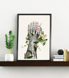 Doctors gift, Hand section Study Art Giclee Print- Science wall art, Future Doctor gift wall decor poster print WP131