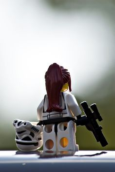 Who says that all stormtroopers are men? #StarWars #Lego #GirlPower