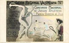 Concurso Nacional de Juegos Atléticos : primera quincena de julio (1909) - Exposición Regional Valenciana (1ª. 1909. València)