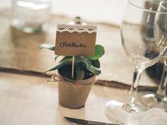 40 idées de marque-places originaux pour votre mariage