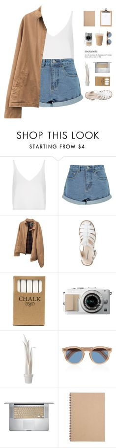 """""""silhouetted by stars."""" by nostalgicteen ❤ liked on Polyvore featuring Topshop, Boohoo, Polo Ralph Lauren, Jayson Home, Wandschappen, Cutler and Gross, Muji, girlpower, polyvoreeditorial and polyvorecontest"""
