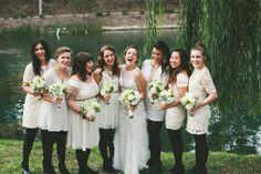 winter wedding bridesmaid style brides of adelaide magazine