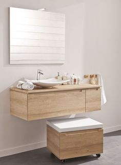 meuble salle bain bois design ikea lapeyre