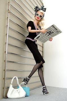 Optic Clash Dania Fashion Doll