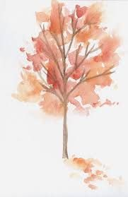 Image Result For Fall Trees Watercolor Fall Watercolor