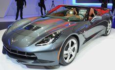 2014 Chevrolet Corvette Stingray Convertible World Premiere: 2013 Geneva Motor Show. For more, click http://www.autoguide.com/auto-news/2013/03/2014-chevrolet-corvette-stingray-world-premiere-2013-geneva-motor-show.html