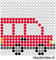 Kralenplank bus, kleuteridee.nl , thema verkeer  , free printable  Beads patterns preschool Perler Beads, Lego Mosaic, Tapestry Crochet Patterns, Pearler Bead Patterns, Beaded Cross Stitch, Beading Patterns, Pixel Art, Transportation Unit, Activities For Kids