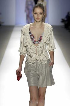 Outstanding Crochet: Carlos Miele Spring-Summer 2007.