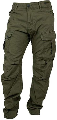 G-Star Men's Rovic Loose Tapered, Magma/Green G Star Men, Star G, Army Pants, Cargo Pants Men, Tactical Pants, Tactical Clothing, Outdoor Outfit, Things To Buy, Style Guides
