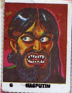 Vintage monster stickers with a high bizarro factor. Arte Horror, Horror Art, Post Apocalyptic Art, Monster Stickers, Modern Pop Art, Vintage Packaging, Pulp Art, Cultura Pop, Illustrations