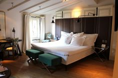 A hotel room or a Parisian Apartment?