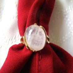 Sterling Goldtone Ring by mimiyaya on Etsy, $20.00